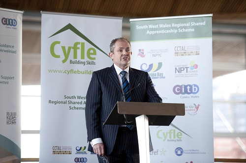 Cyfle Launch at the Senedd, Cardiff 21st May 2014