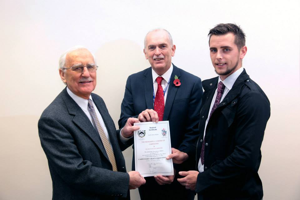 Jamie Williams – Institute of Carpenters Award