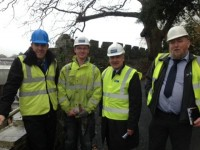 MP Visits Apprentices at Cardigan Castle