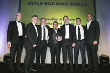 Cyfle Wins Leadership and People Development Award
