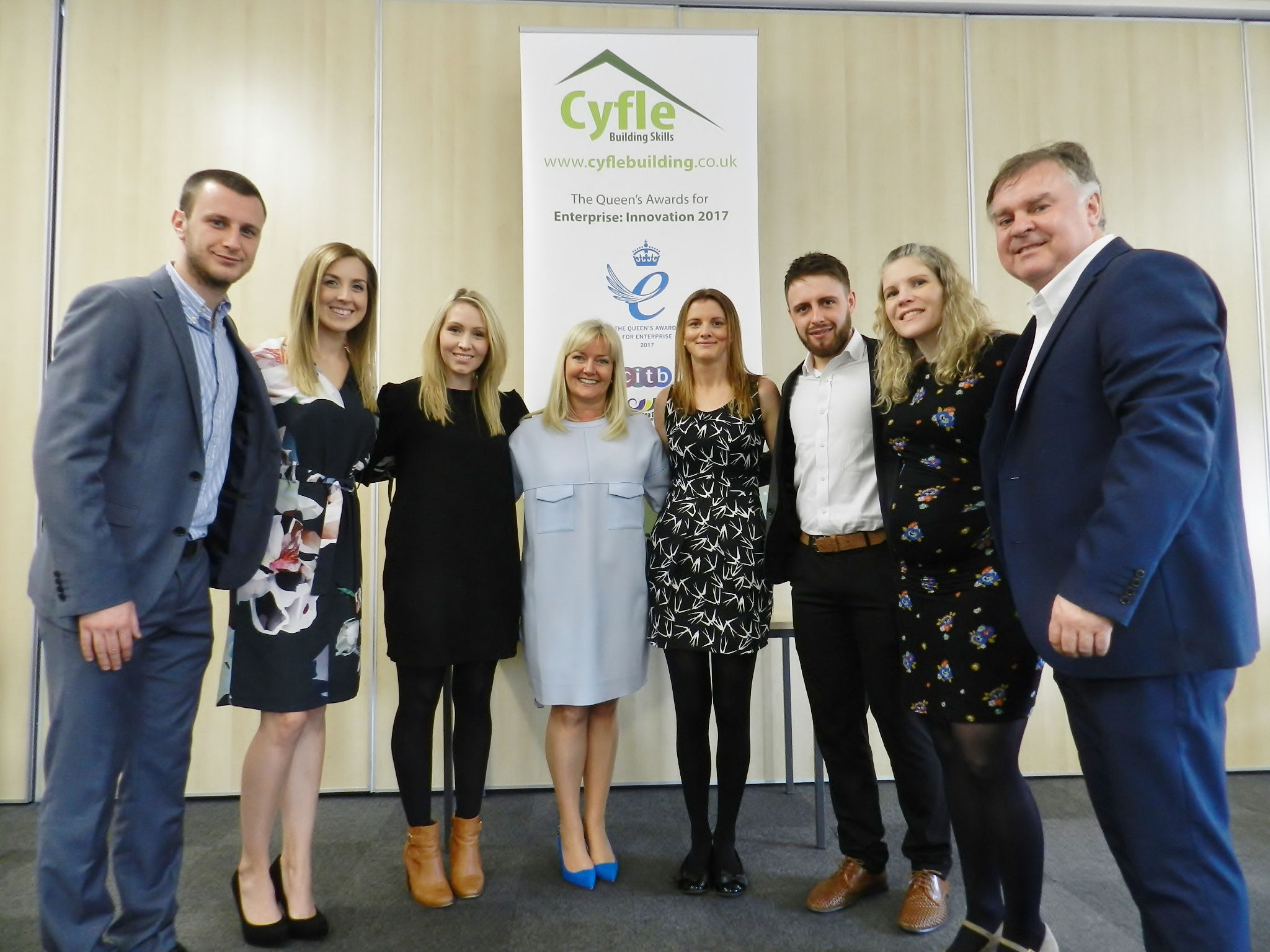 Cyfle Building Skills Scoops the Queens Award for Enterprise – Innovation